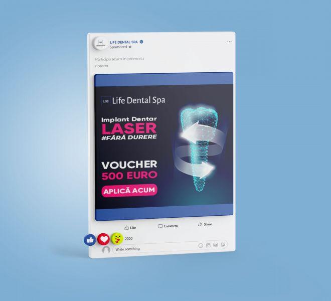 Facebook ADS Life Dental Spa 4