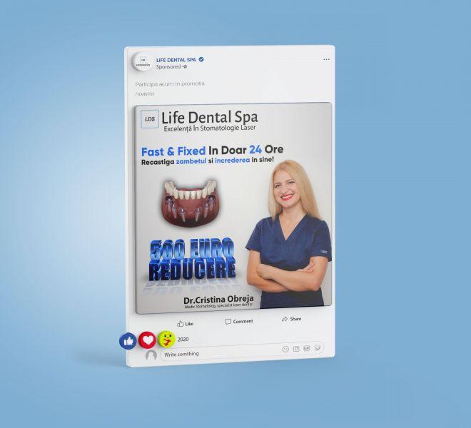 Facebook ADS Life Dental Spa 6